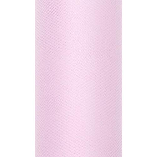 Tiul dekoracyjny 50 cm x 9 m 081J j. różowy
