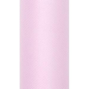 Tiul dekoracyjny 15 cm x 9 m 081J j. różowy