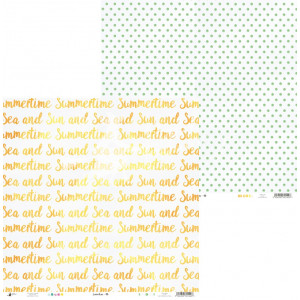 Papier 30 x 30 cm - Piątek Trzynastego - Summertime 04
