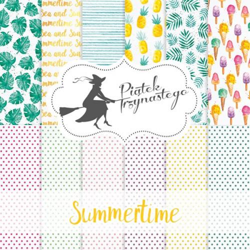Zestaw papierów Piątek Trzynastego - Summertime 30x30 cm