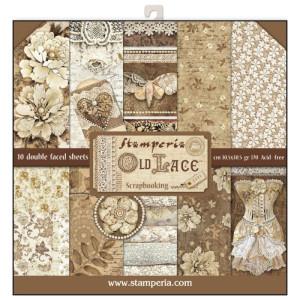 Zestaw papierów 30x30 Atelier - Stamperia