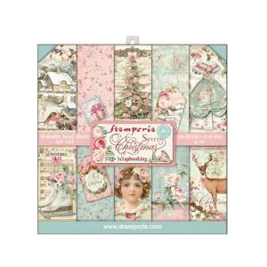 Zestaw papierów 30x30 Sweet Christmas - Stamperia