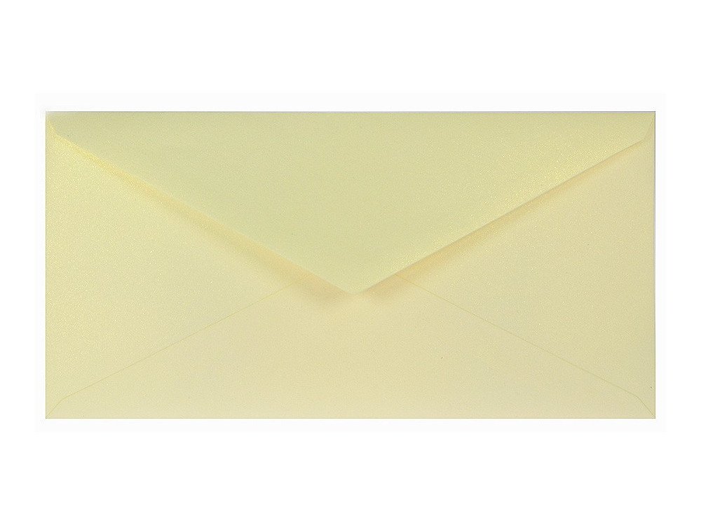 Sirio Pearl Envelope 110g - DL, Merida Cream