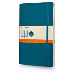 Notatnik Moleskine - Ruled Soft Underwater Blue L