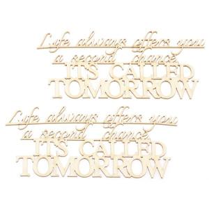 Ozdoby tekturowe - Everything you ever, 2 szt.