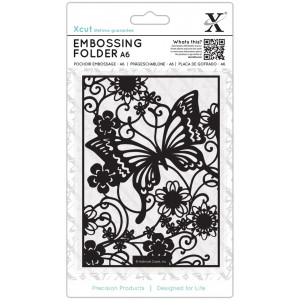 Folder do embossingu A6 X-Cut - Butterfly Meadow
