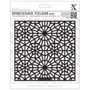 Folder do embosingu 15x15 - X-cut - Moroccan Star Pattern