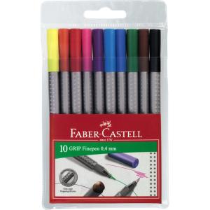 Flamastry z pieczątkami, 10 kolorów - Faber-Castell