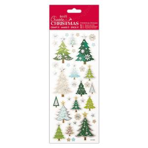 Naklejki wytłaczane - Papermania - Christmas Sentiments