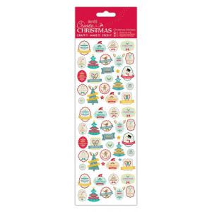 Christmas Thicker Stickers - Papermania - Traditional Santa