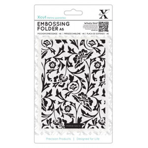 Folder do embosingu A6 - X-cut - Folk Florals