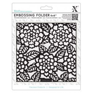 Folder do embosingu A6 - X-cut - Baroque Florals