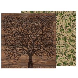 Papier 30 x 30 cm Heart of Home - Family Tree