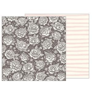 Papier 30 x 30 cm Heart of Home - Pinstripe Buffalo Check