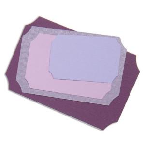 Zestaw wykrojników Sizzix Framelits - Tickets