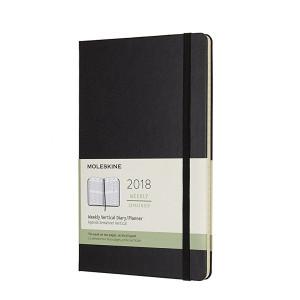 Kalendarz Moleskine 2018 Weekly Vertical Large