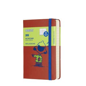 Kalendarz Moleskine 2017 Peanuts Daily Pocket