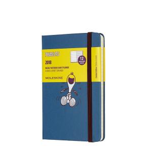 Kalendarz Moleskine 2017 Peanuts Weekly Pocket