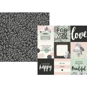 Papier Simple Stories - Beautiful - 3x4 Elements