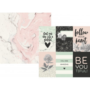 Papier Simple Stories - Beautiful - 4x6 Horizontal Elements