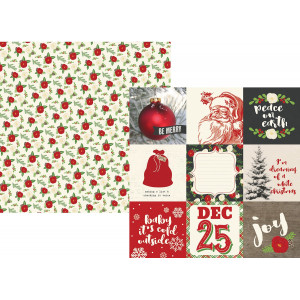 Papier Simple Stories - Very Merry - 3x4 Journaling Card Elements