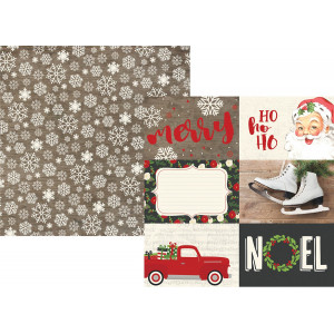 Papier Simple Stories - Very Merry - 4x4 Elements