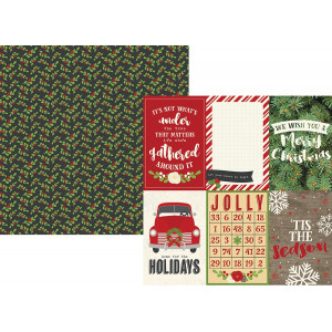 Papier Simple Stories - Very Merry - 4x6 Horizontal Elements