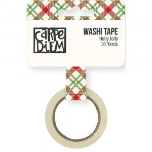 Tasiemka Washi Holly Jolly - Very Merry - Simple Stories