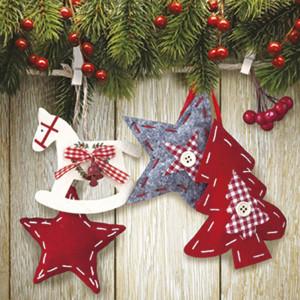 Serwetki ozdobne świąteczne 20 szt. CHRISTMAS & STARS
