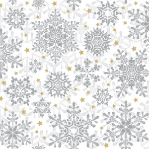 Serwetki ozdobne świąteczne 20 szt. GLOWING STARS solver