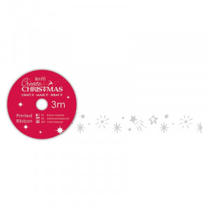 Tasiemka z nadrukiem - Papermania - Merry Christmas