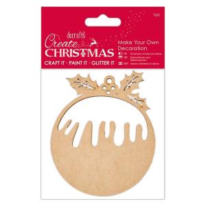 Drewniane kształty do ozdabiania - Papermania - Wreath
