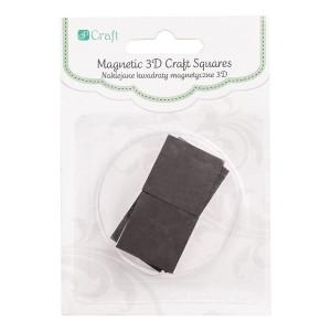 Naklejane kwadraty magnetyczne z pianką 3D 1,27 cm, 8 szt.