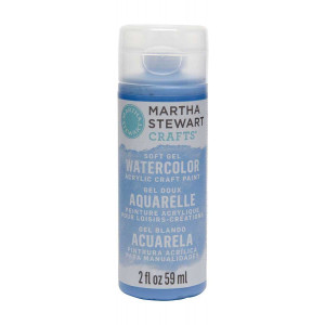 Martha Stewart Crafts 2oz Watercolor Craft Paint - Blood Orange