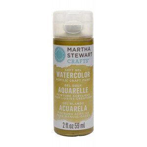 Martha Stewart Crafts 2oz Watercolor Craft Paint - Emerald City