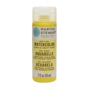 Martha Stewart Crafts 2oz Watercolor Craft Paint - Snow Pea