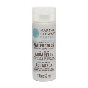 Martha Stewart Crafts 2oz Watercolor Craft Paint - Vanilla Bean