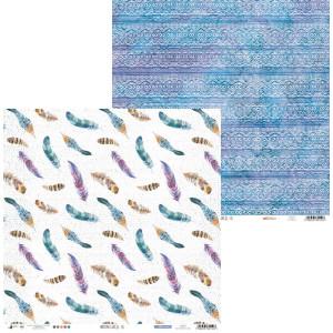 Papier 30 x 30 cm - Piątek Trzynastego - Biegun Północny 06