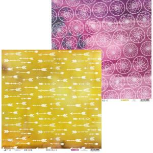 Papier 30 x 30 cm - Piątek Trzynastego - Papier Moonchild 01