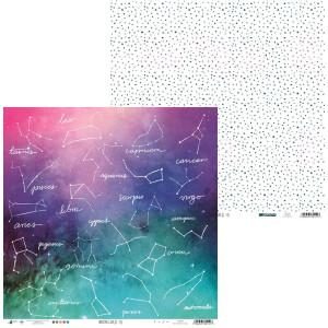 Papier 30 x 30 cm - Piątek Trzynastego - Papier Moonchild 02