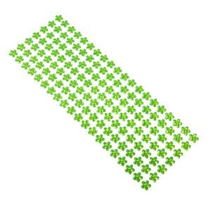 Dżety kwiaty samoprzylepne 12 mm 140 szt. zielone