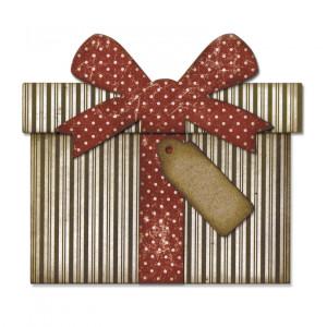 Zestaw wykrojników Sizzix Thinlits Die - Card, Gingerbread Fold-a-Long 11 szt.