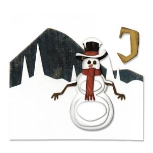 Sizzix Thinlits Die Set 5PK - Winter Wonderland