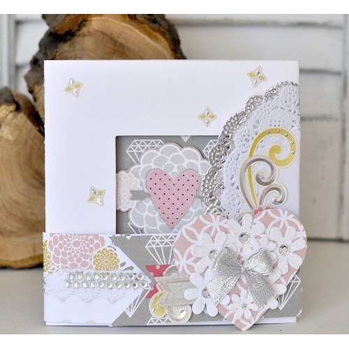 TriFold Card Kit  Cm X  Cm   Pc