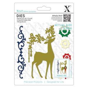 Zestaw wykrojników X-cut Die - Ornate Christmas Tree