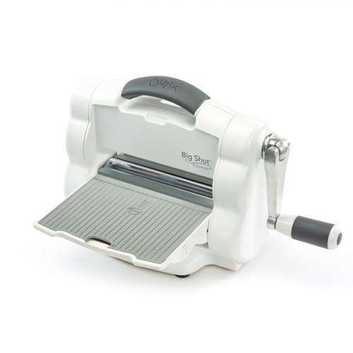 Maszyna tnąco - wytłaczająca - Sizzix Big Shot Foldaway (White and Grey)