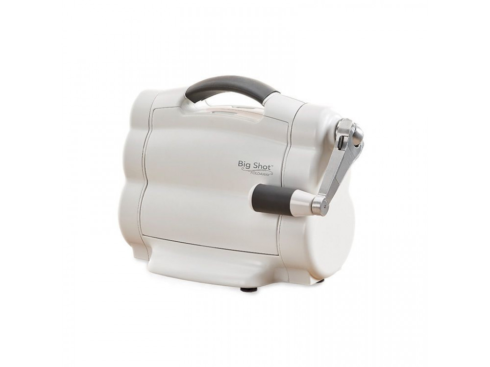 Sizzix Big Shot Foldaway Machine (White and Grey) with Free Bonus Content