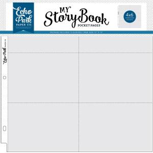 Koszulki do albumu 30x30 Echo Park - My StoryBook - Combo