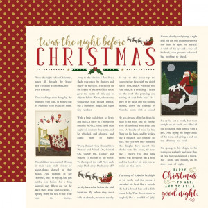 Papier Echo Park - TNC - Candy Christmas