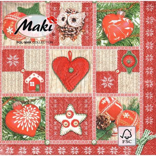Serwetki ozdobne świąteczne 20 szt. SLGW014302
